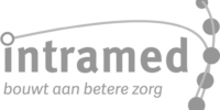 Intramed logo grijs